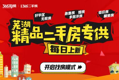 每日推新|芜湖精品二手房专供
