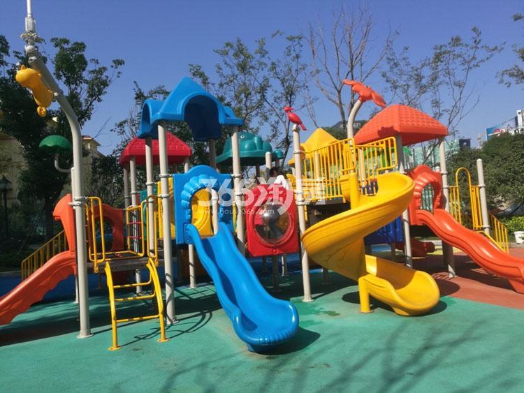 金象朗诗红树林售楼处游玩设施(12.26)