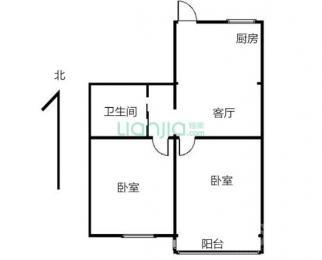 江干区 金秋花园2室1厅1卫60平米精装整租