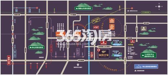 仙林印象交通图