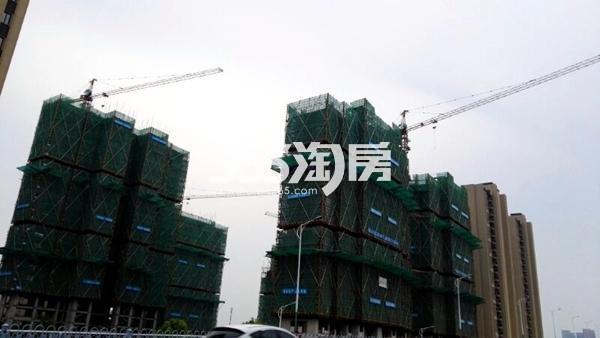 世茂东都天城四期工地实景图3(8.14)