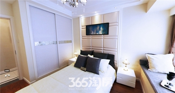 东方蓝海B2户型约88㎡样板间-卧室