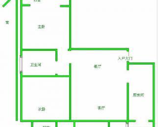 广益博苑二期全新精装修 东边套 无个税 大修理已交诚售