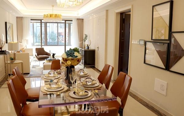 伟星金悦府公园洋房123平样板间——餐厅