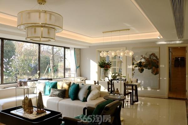 伟星金悦府公园洋房140平样板房——客厅