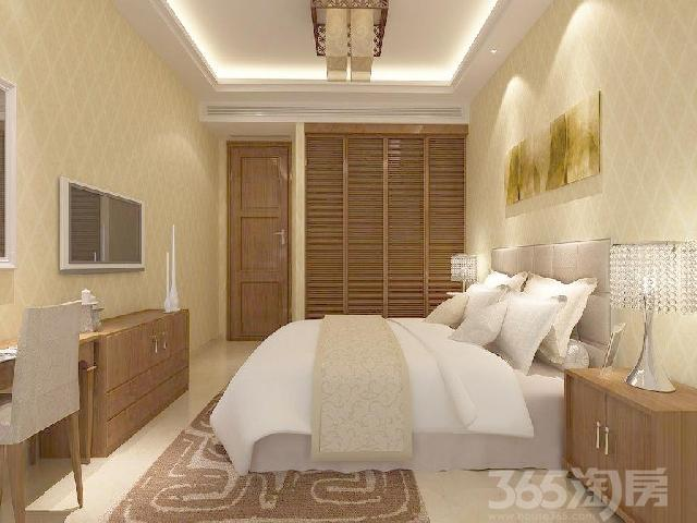 世贸香樟园3室2厅1卫满两年产权房精装户型方正南北通透