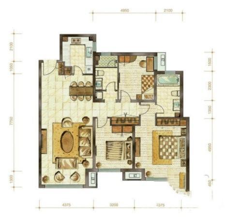 香山壹境3室2厅1卫86.00�O2015年满两年产权房精装