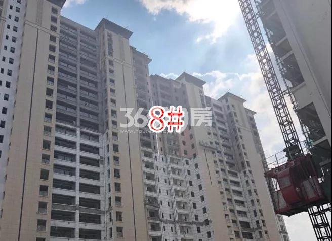 蓝光雍锦里高层8#楼实景图(2018.8 摄)