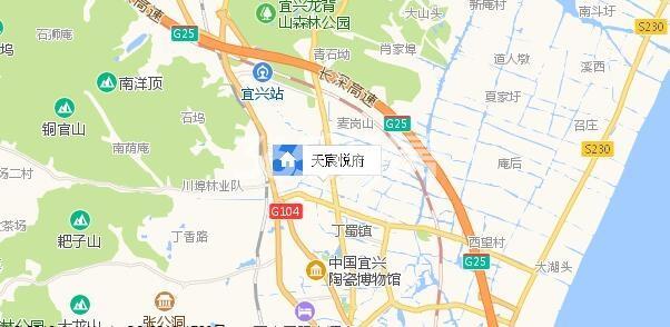 天宸悦府交通图