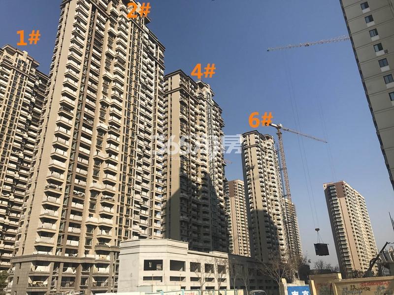 弘阳燕江府1、2、4、6号楼进展图(12.25)