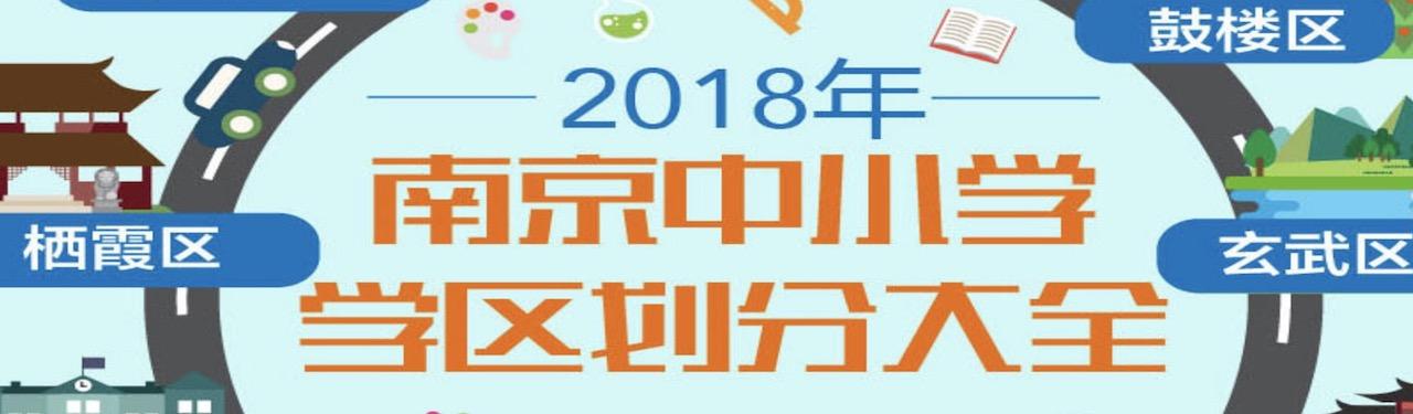 专题|2018南京中小学学区划分