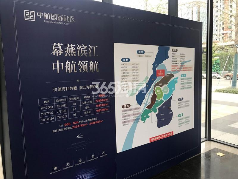 中航国际社区项目售楼处内展示(12.25)