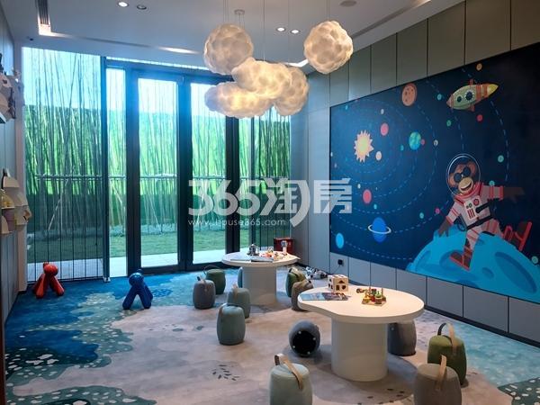 时代城营销中心儿童游乐区实景(2018.5)