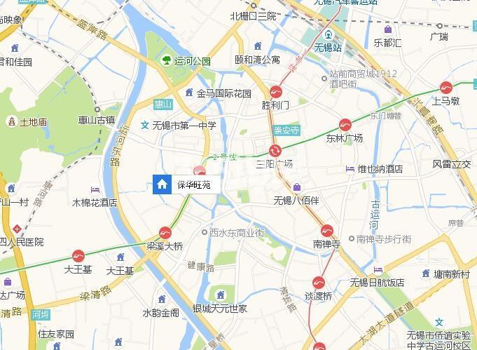 保华旺苑交通图