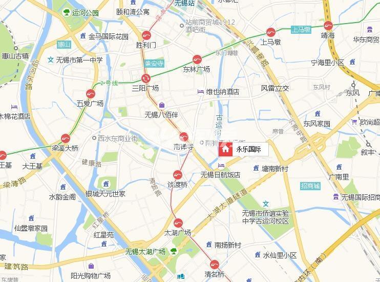 永乐国际交通图