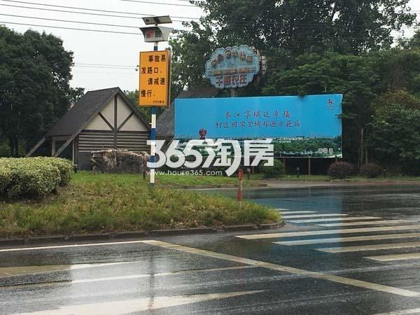 瑞安翠湖山实景图(6.30)