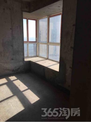 汉庭香榭2室2厅1卫95平米毛坯产权房2017年建