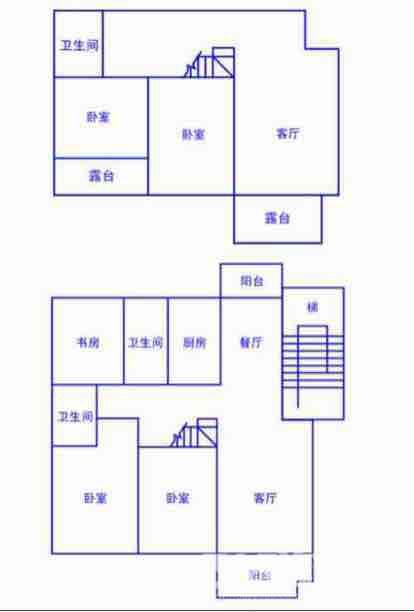 汉都华庭5室3厅3卫197平米整租豪华装