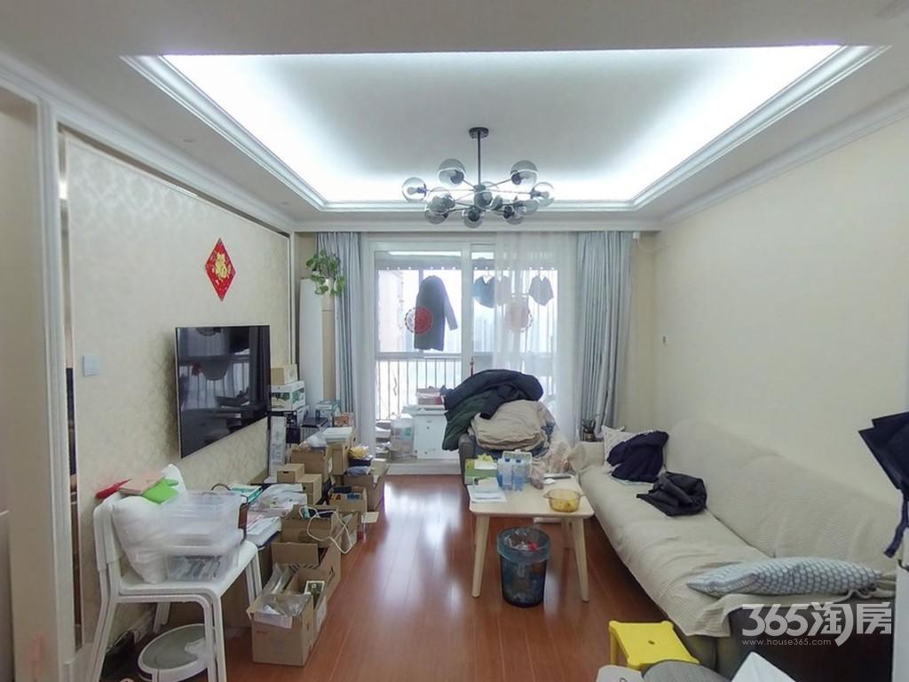 中南世纪雅苑3室2厅1卫91平米2017年产权房精装