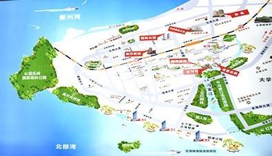 园辉红树湾交通图