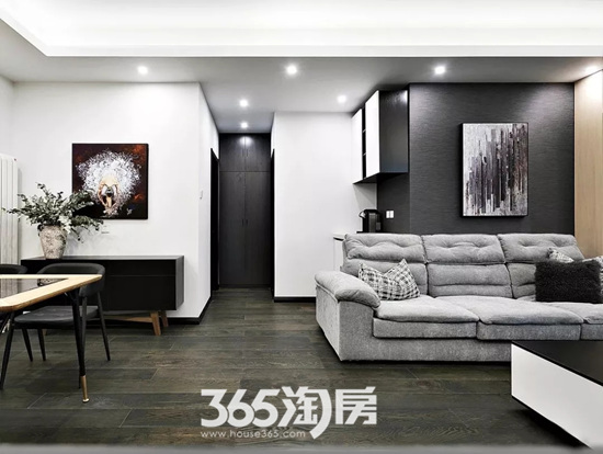 家装案例|150�O现代简约三居室,这就是我心目中家的样子!