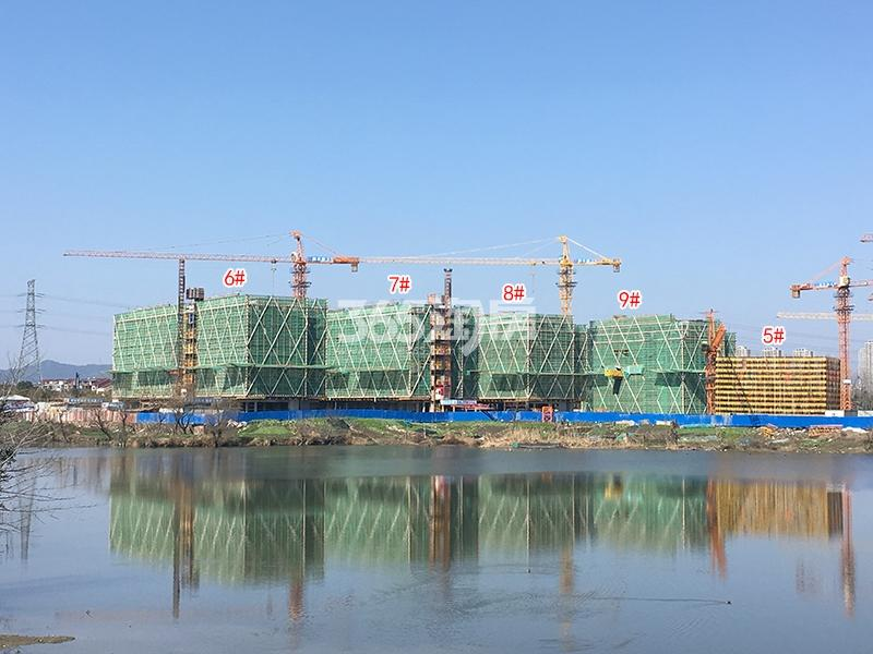 绿都云和湖项目5-9号楼施工实景图(2018.2)