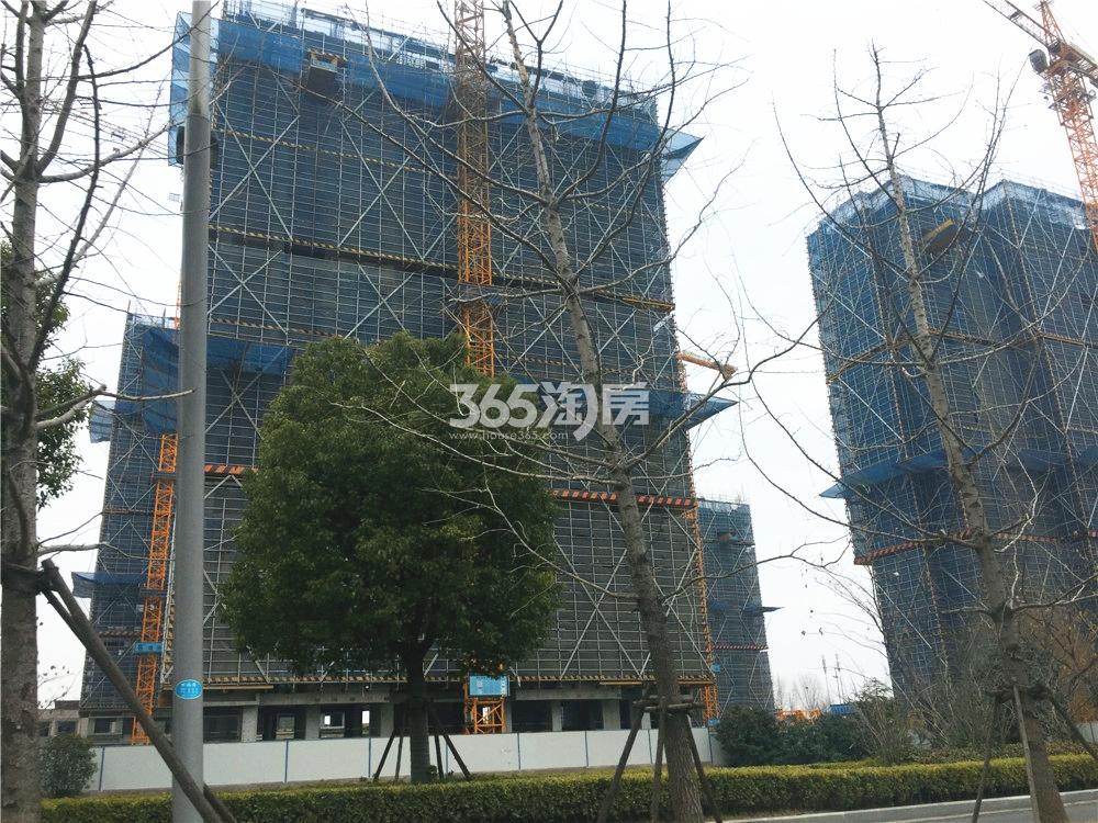 绿地华侨城海珀滨江实景图(2.24)