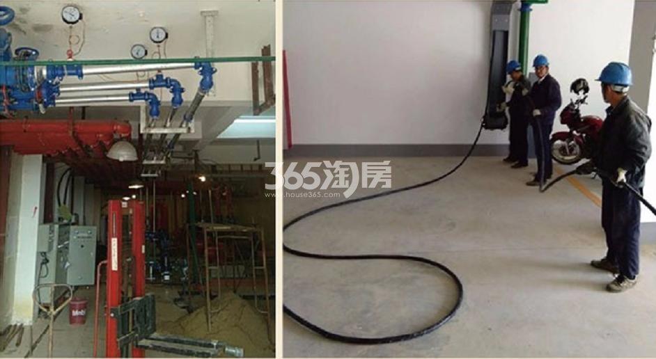 卧龙湖小镇水电工程实景图(11.20)