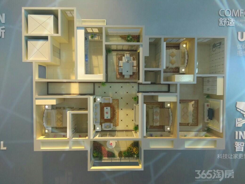 明光碧桂园嘉山首府4室2厅3卫192平米70年产权房毛坯