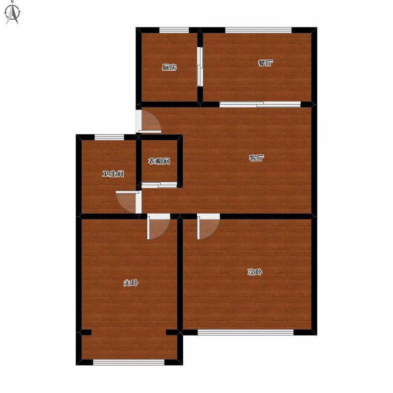 下城区建国北路宝善桥永康苑2室2厅1卫89.98平米整租精装