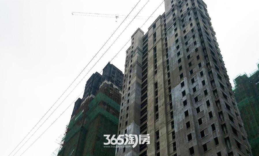华邦观筑里工程进度(2017.6)