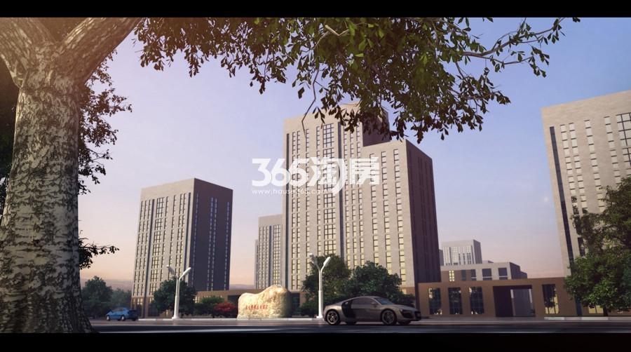 清大博雅总部园区效果图