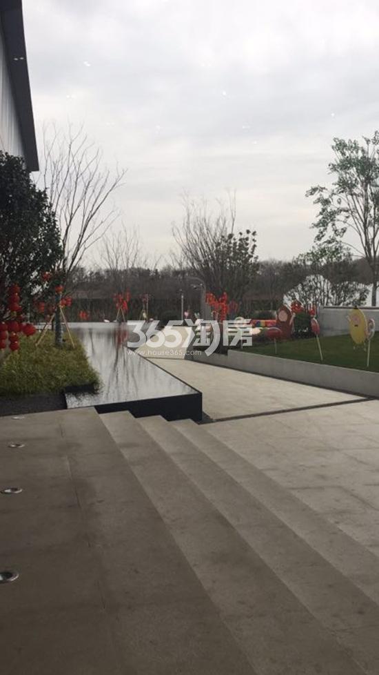 华侨城翡翠天域项目售楼处环境实景图(2.26)