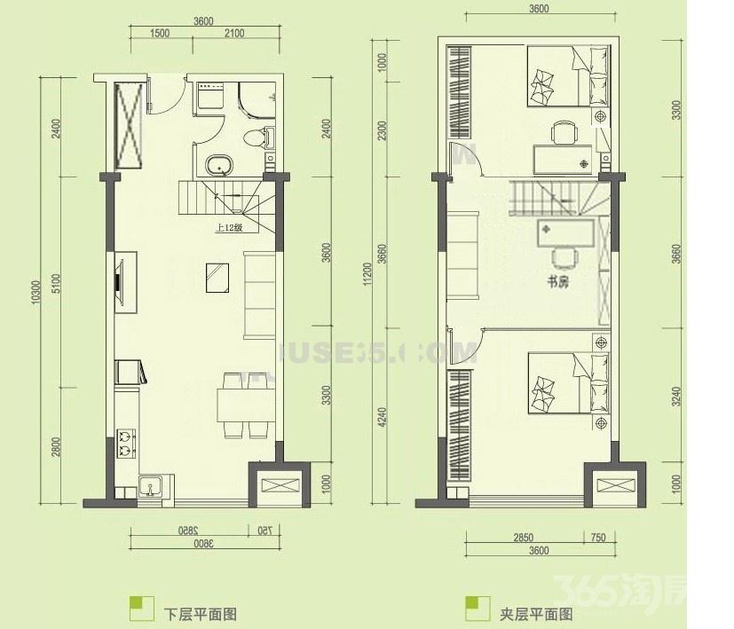 东郊小镇第八街区2室2厅1卫113万元47平方