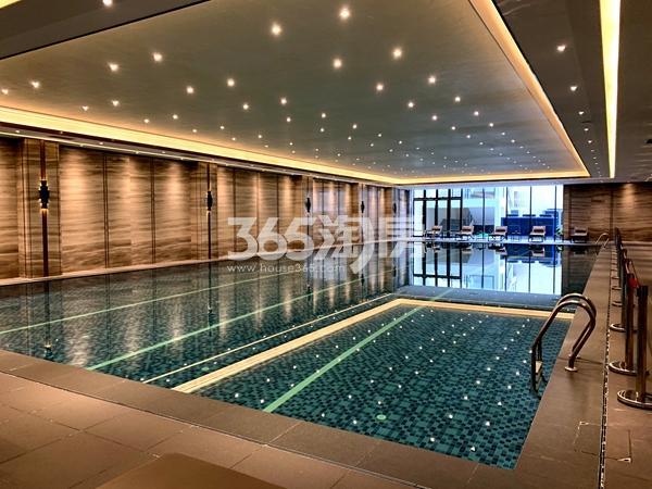 太湖如院会所室内泳池实景(2020.3.31摄)