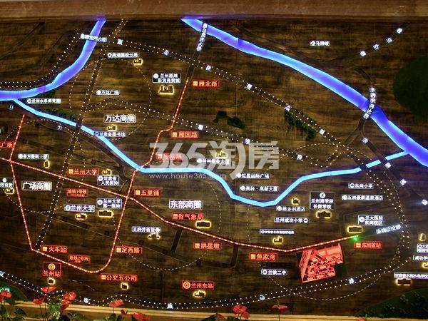 华鼎中央都会交通图