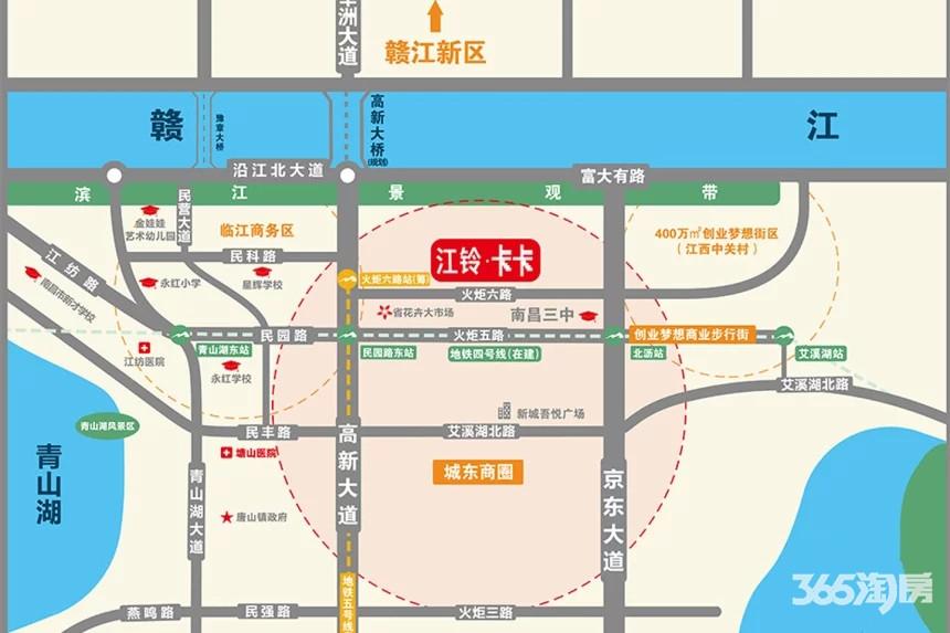 江铃卡卡交通图