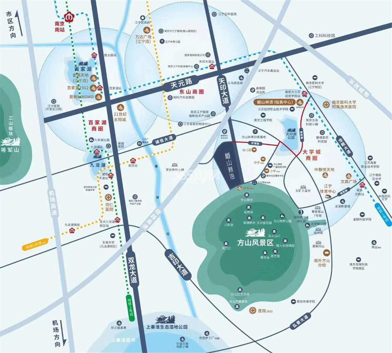 樾山林语交通图