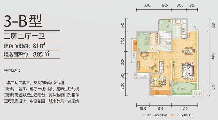 东原城户型图