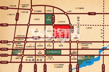 海通乐安郡交通图