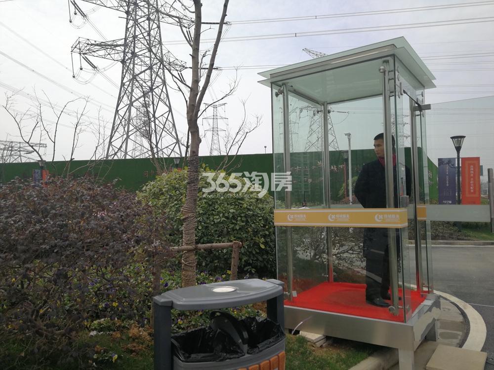 仙林首望城售楼处实景图(5.25)