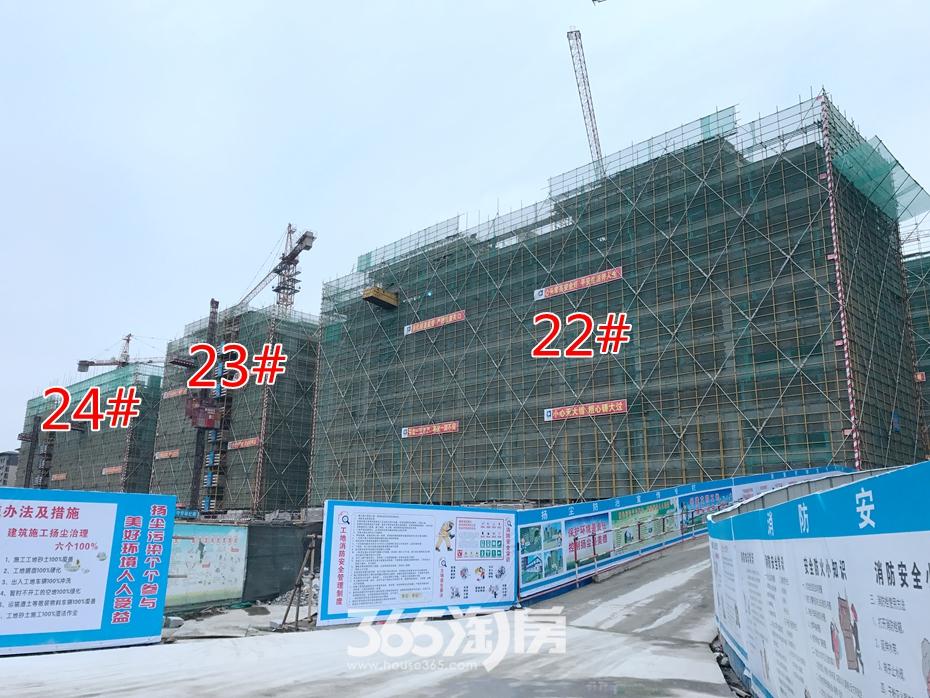 景观示范区将开放 伟星玖璋台工程进度实探|图