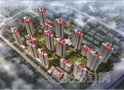 融创淮海壹�4室2厅2卫125平米豪华装产权房2018年建