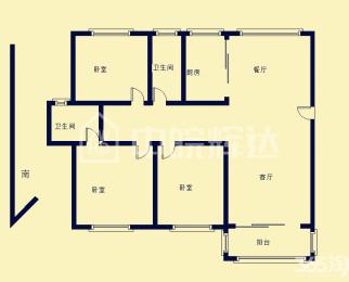 维也纳森林花园 多层2楼 板式三房 南北通风 业主置换诚心卖