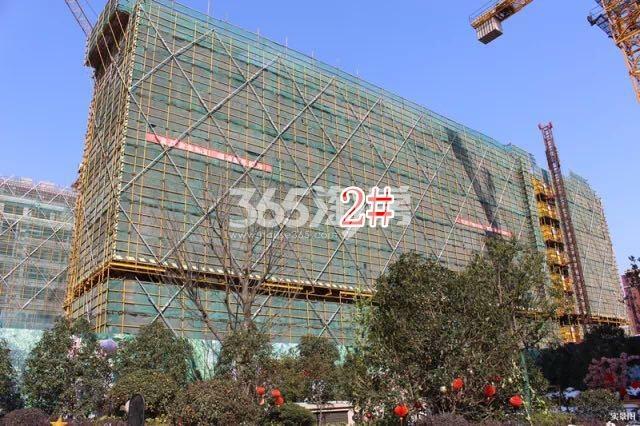 红豆首府二期2#楼小高层实景图(2018.3 摄)