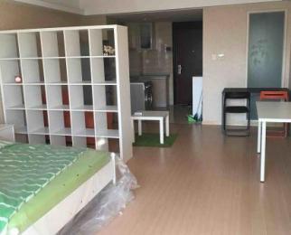 峨嵋公寓1室1厅1卫58平米整租精装