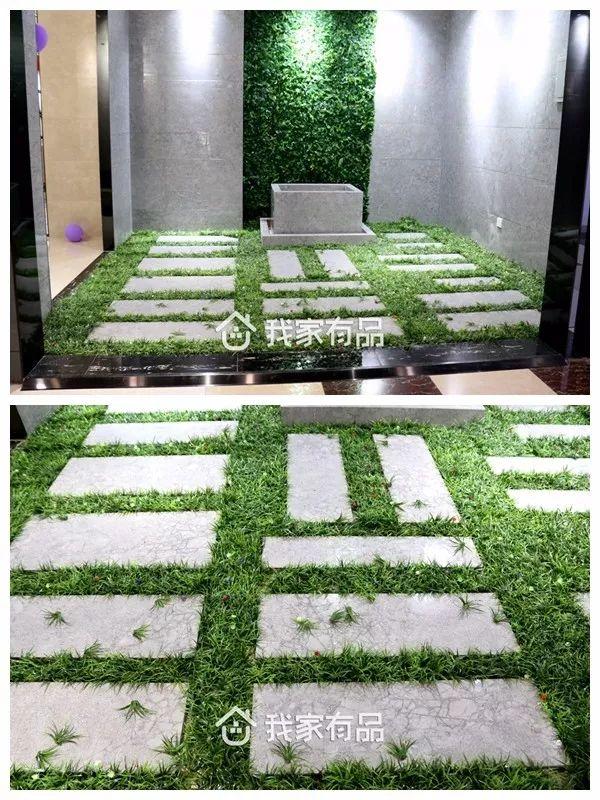 惠达瓷砖|芜湖家居|入户小花园