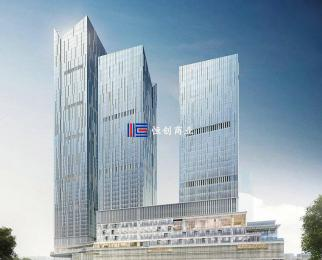 河西CBD 国金中心豪华装修带办公家具新地中心 华泰证券总