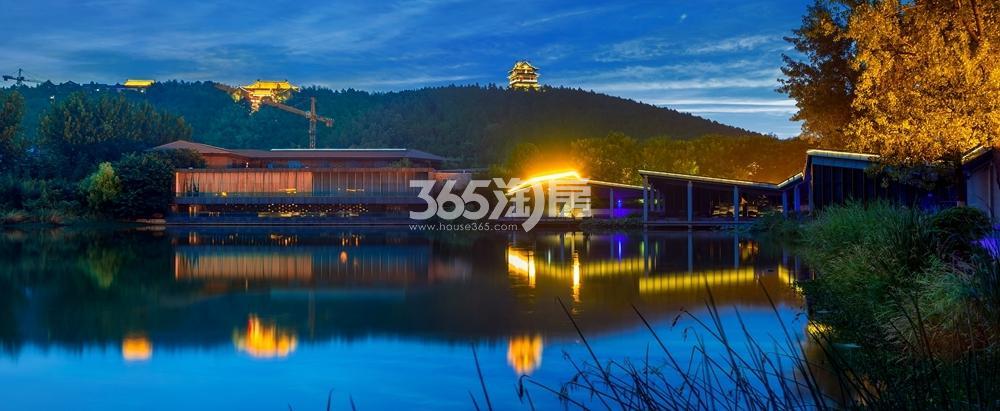 世茂东都天城周边配套汉文化景区实景图
