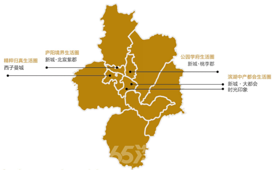 图:新城控股合肥布局